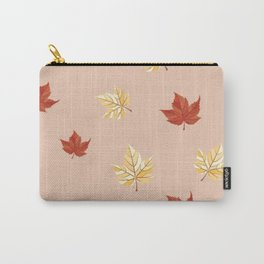 Leaf pattern Carry-All Pouch