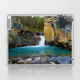 Bottom of Beauty Creek Canyon in Jasper National Park, Canada Laptop & iPad Skin