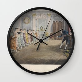 Ludovici Albert  La classe de danse  A dancing classMonsr Coulons AcademyAdditional Monsr Coulons Academy Wall Clock