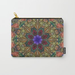 Hallucination Mandala 1 Carry-All Pouch