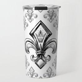 Royal - fleur de lys Travel Mug