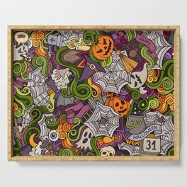 HAPPY HALLOWEEN Serving Tray
