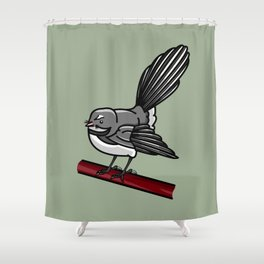 Fantail Shower Curtain