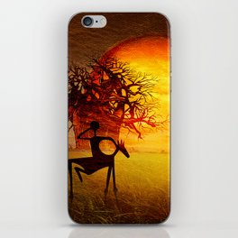 Visions of fire iPhone Skin