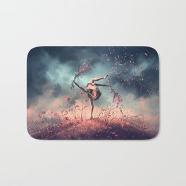 VIRGO from the Dancing Zodiac Bath Mat