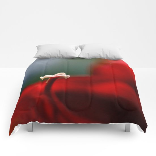 Red & White  Comforters