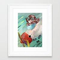 plane Framed Art Prints featuring Plane by Alex Chystiakov