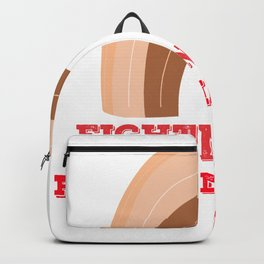 Fighting For Peace Matter Backpack