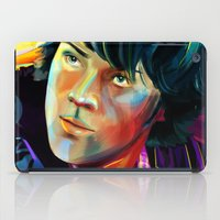 sam winchester iPad Cases featuring Sam Winchester in Color by thefluidlines