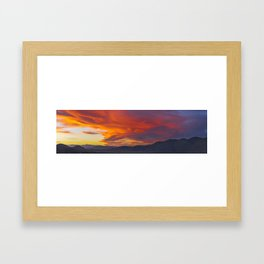 Valley of the Shadow of Death Framed Art Print