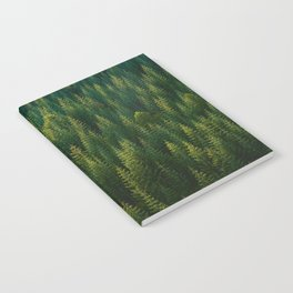 The Green Forest (Color) Notebook