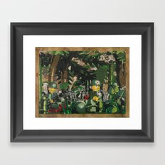 Tending to the Wounded, Vietnam Framed Art Print