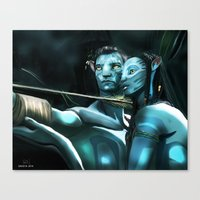 avatar Canvas Prints featuring Avatar by Dano77