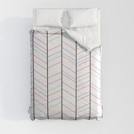 Cotton Candy Stripes Comforters