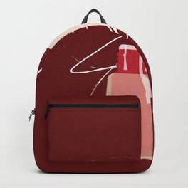 When Red Meets RED Backpack