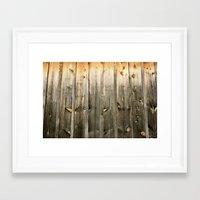 cosima Framed Art Prints featuring Barnside by Cosima Higham