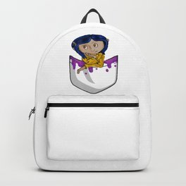A Lil Coraline In My Pocket Backpack