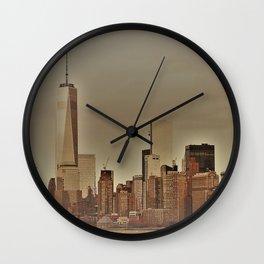 New York Harbor Wall Clock