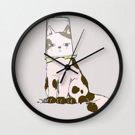 Help Me, Hooman! Wall Clock