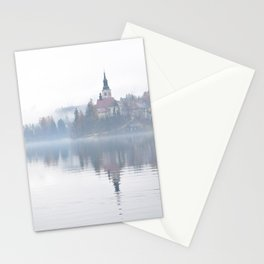 The Mists of Lake Bled Stationery Cards