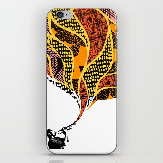 Trumpet iPhone & iPod Skin
