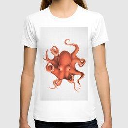 Octopus - Watercolor T-shirt