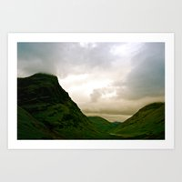 scotland Art Prints featuring Scotland by Jennifer McMartin