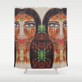 The kween Shower Curtain