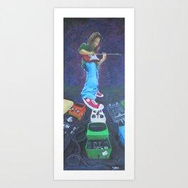 Divine Modulation Art Print