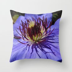 Vibrant Purple Throw Pillow
