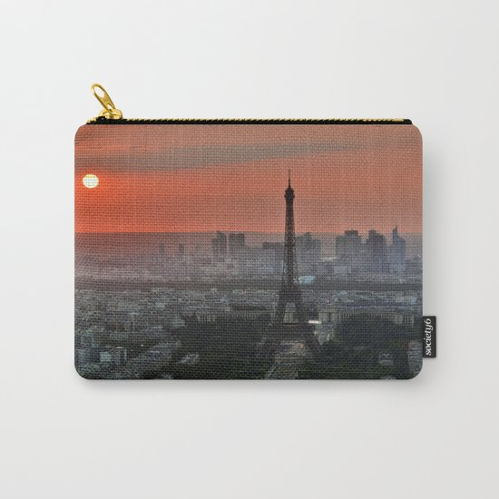 Paris le soir Tour Eiffel Carry-All Pouch