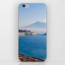 View of Naples Bay, Italy iPhone Skin