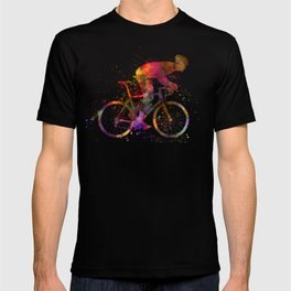 cyclist road bicycle T-shirt