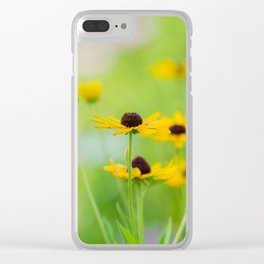 Black Eyed Susans in Summer Clear iPhone Case