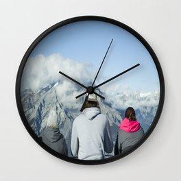EAT SLEEP CAMP! Wall Clock