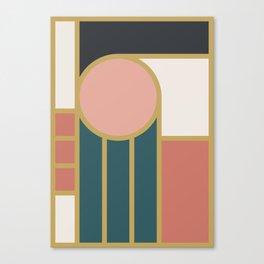 Maximalist Geometric 04 Canvas Print