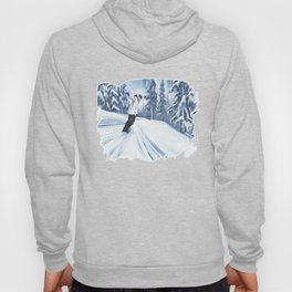 Dropping The Dream Forest Hoody