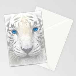Ghost Tiger Stationery Cards