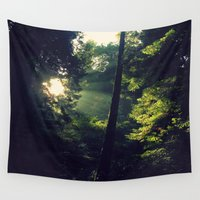 spiritual Wall Tapestries featuring Spiritual by LilyMichael Photography