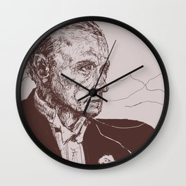Fred Astaire in Moon Luminance Wall Clock