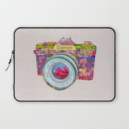 FLORAL CAN0N Laptop Sleeve