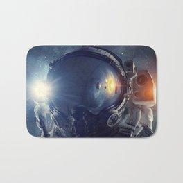 Galaxy astronaut 3 Bath Mat