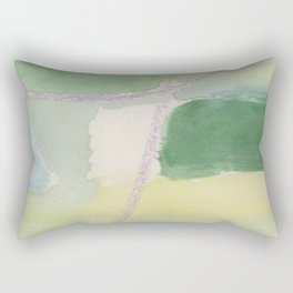 Green overview Rectangular Pillow