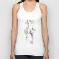 suit Tank Tops featuring SUIT by leeem