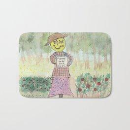 Giving Scarecrow Bath Mat