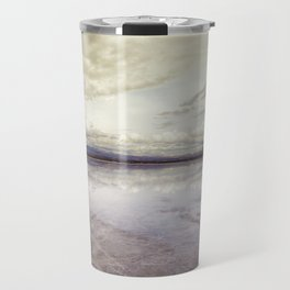 Surreal Bolivian Salt Flat Travel Mug