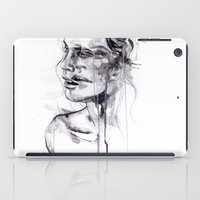bride iPad Cases featuring Tremore by agnes-cecile