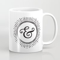 ampersand Mugs featuring Ampersand by creative index