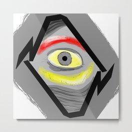 Inner Eye Metal Print