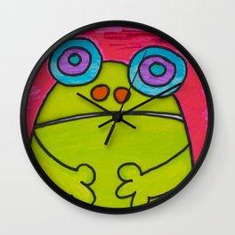 Froggy Wall Clock